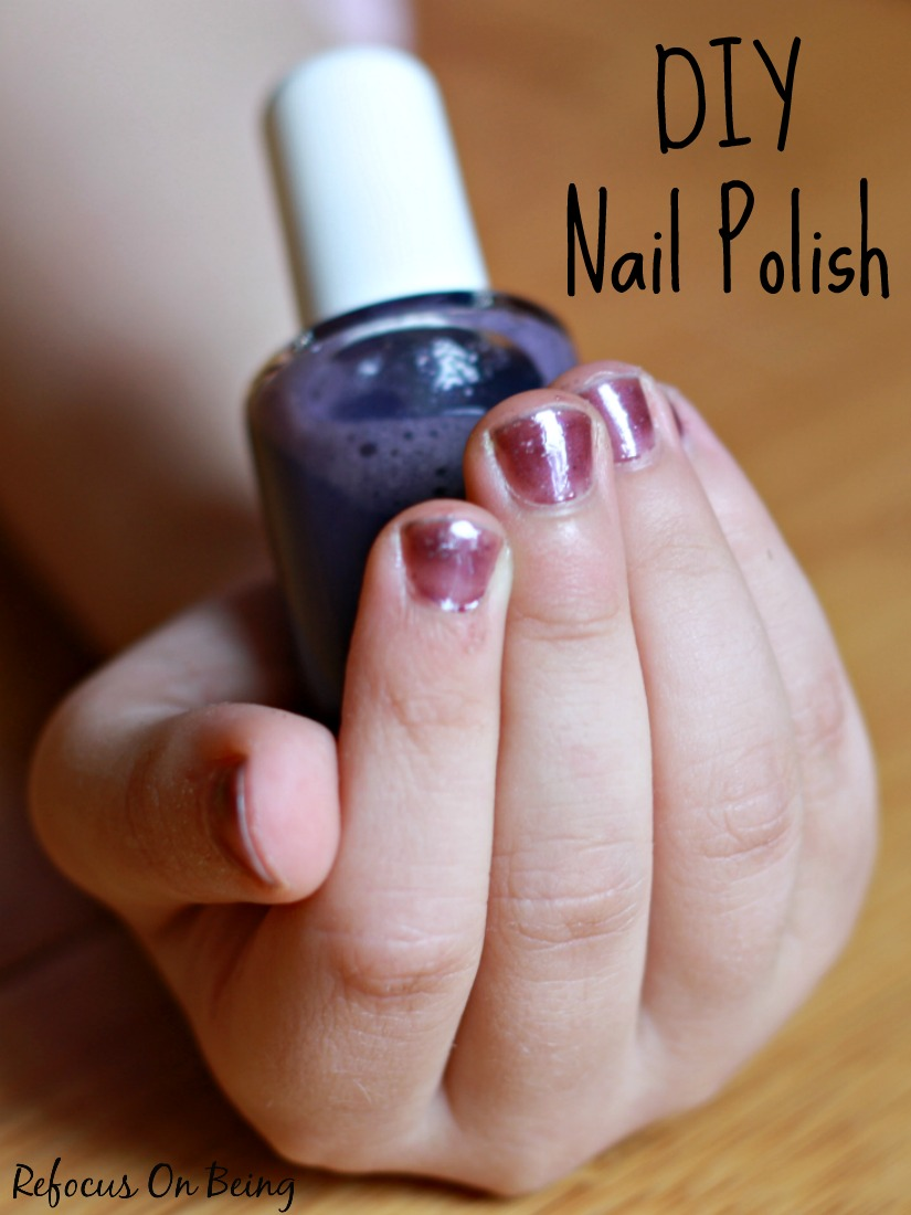 How To Make Homemade Nail Polish From Scratch - Best Nail 2018